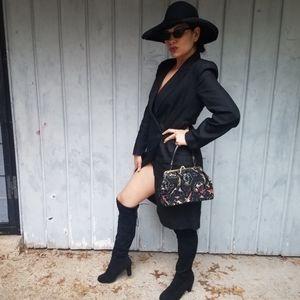 Adrienne Vittadini blazer dress